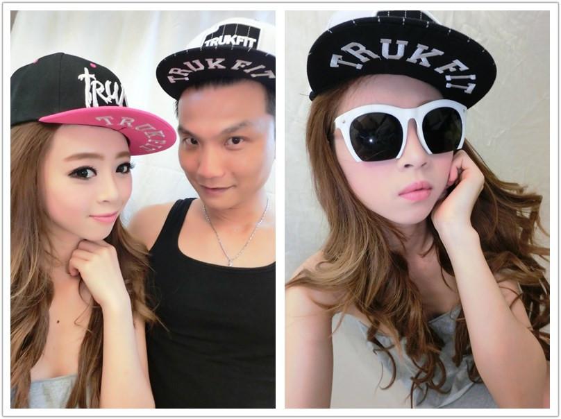韓版嘻哈鴨舌帽 時尚棒球帽 防曬遮陽帽