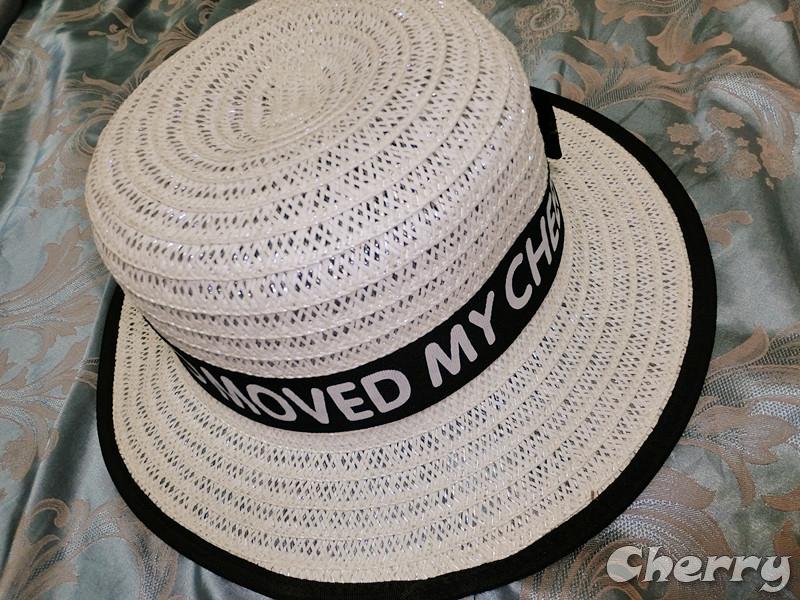 包邊黑白兩色小禮帽