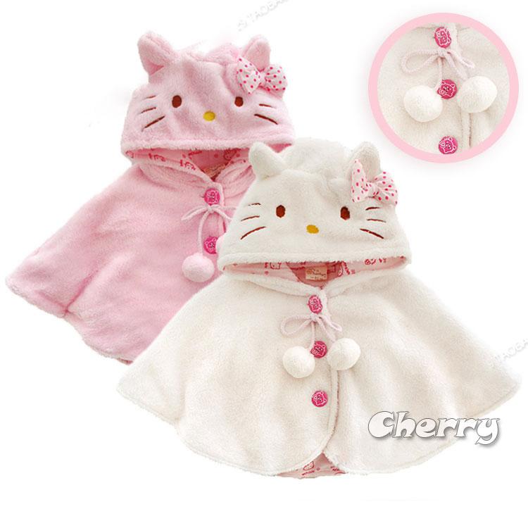 寶寶外出披風可愛造型貓貓斗蓬