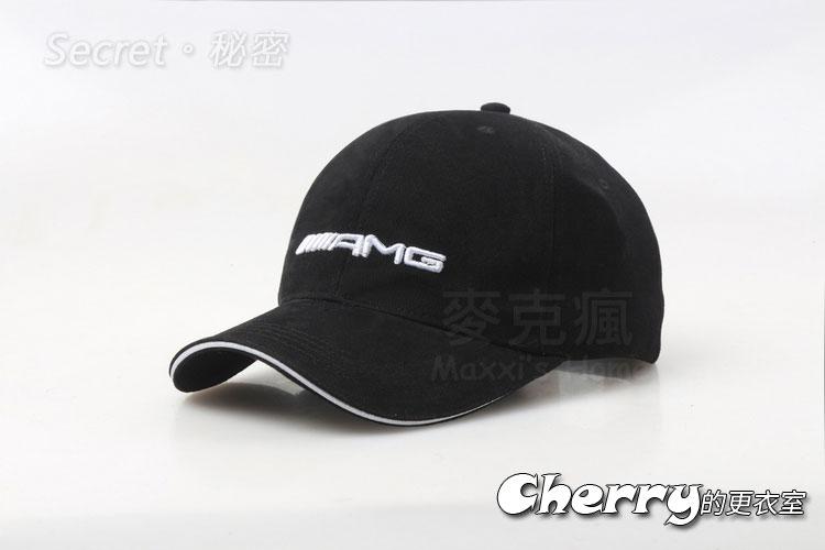 Benz賓士遮陽帽AMG款式棒球帽剌繡款鴨舌帽