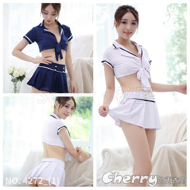 女警察學生性感內衣空姐角色扮演包臀水手服短裙制服情趣三件套裝