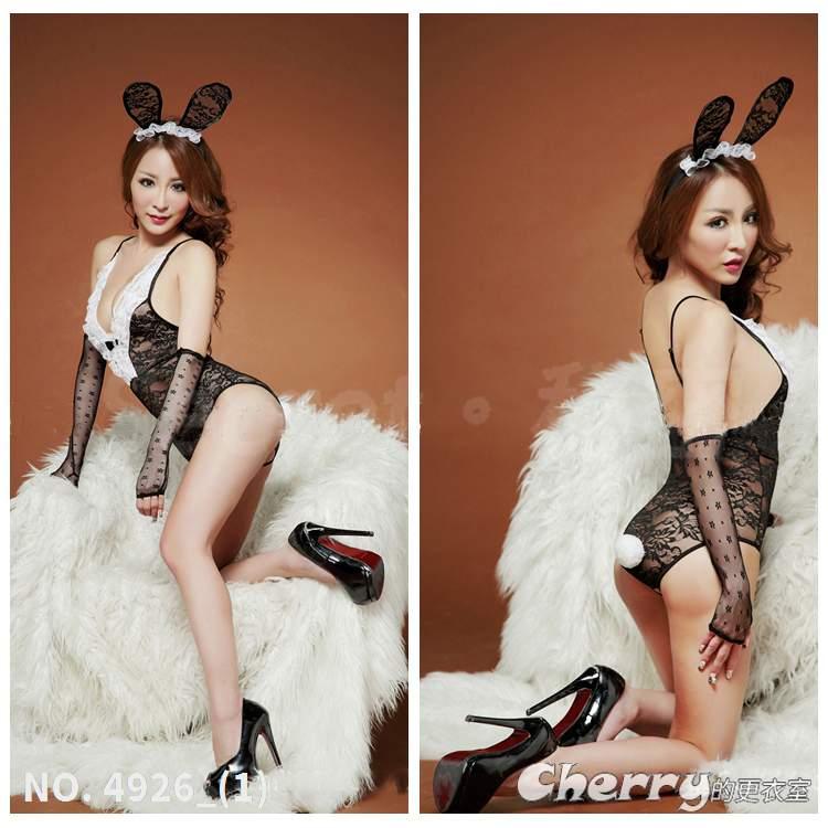 派對蕾絲兔女郎角色扮演緊身衣尾牙cosplay情趣變裝內衣春酒連身褲
