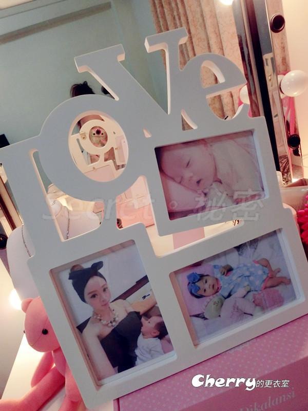 創意Love相框相架 婚禮小物收禮裝飾佈置姐妹生日禮 大號