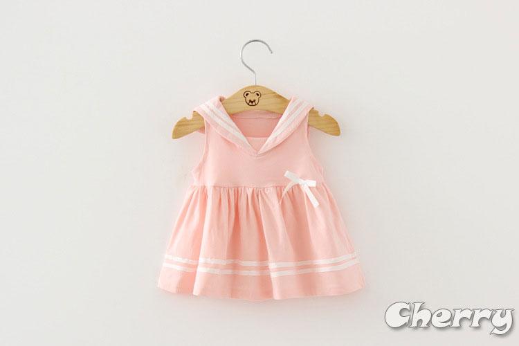 女寶寶海軍風公主裙