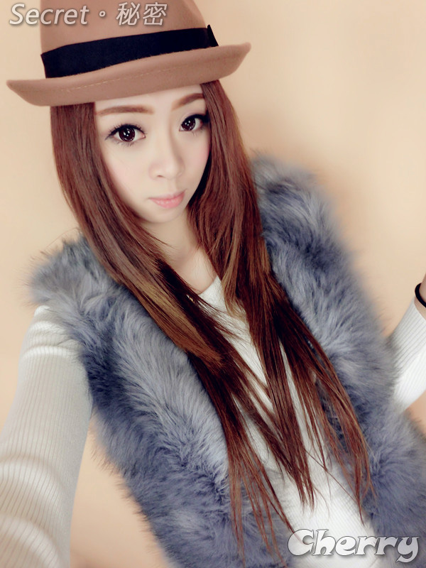 韓版皮草馬甲超柔軟保暖加厚氣質背心外套