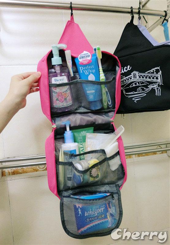 防水旅行收納掛包