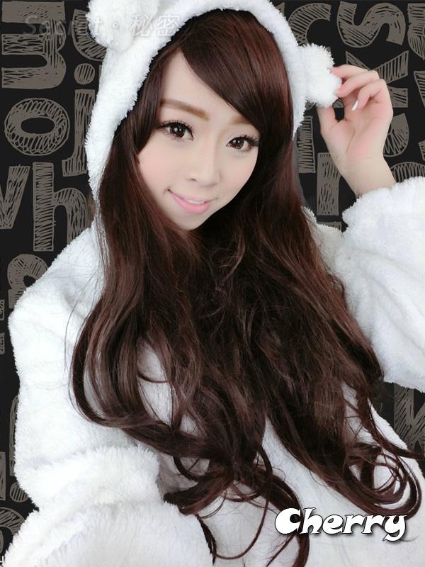 韓版可愛小熊兔子毛絨絨大衣外套