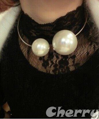 珍珠頸箍飾品配件