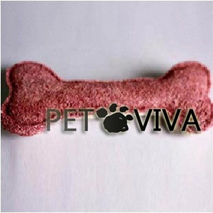 【PET VIVA】寵物玩具 天然絲瓜纖維狗骨頭 磨牙潔齒除口臭