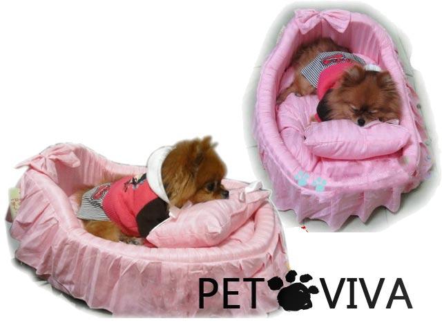 【PET VIVA】竉物公主床狗窩 貓兔兔子豬鼠竉物可用