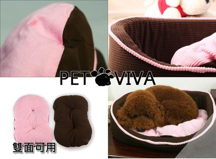【PET VIVA】竉物窩床歐洲風可機洗 狗狗貓兔兔子豬鼠可用