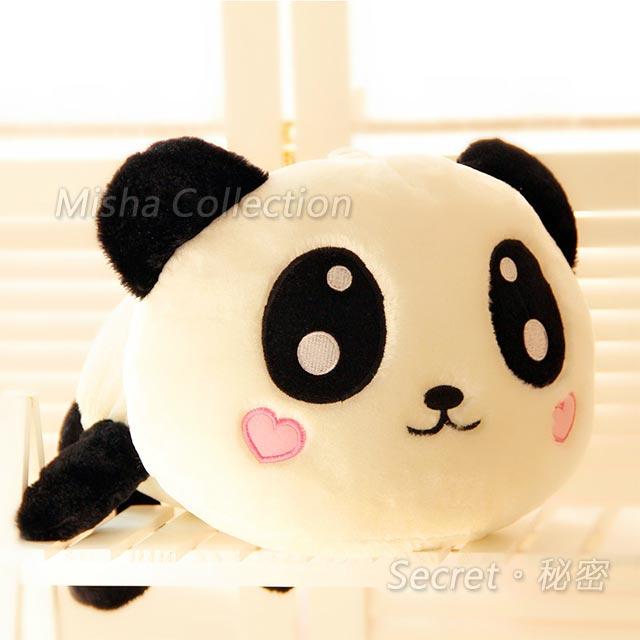 可愛趴趴熊貓公仔絨毛懶懶熊熊玩具娃娃 抱枕情人聖誕節禮贈品