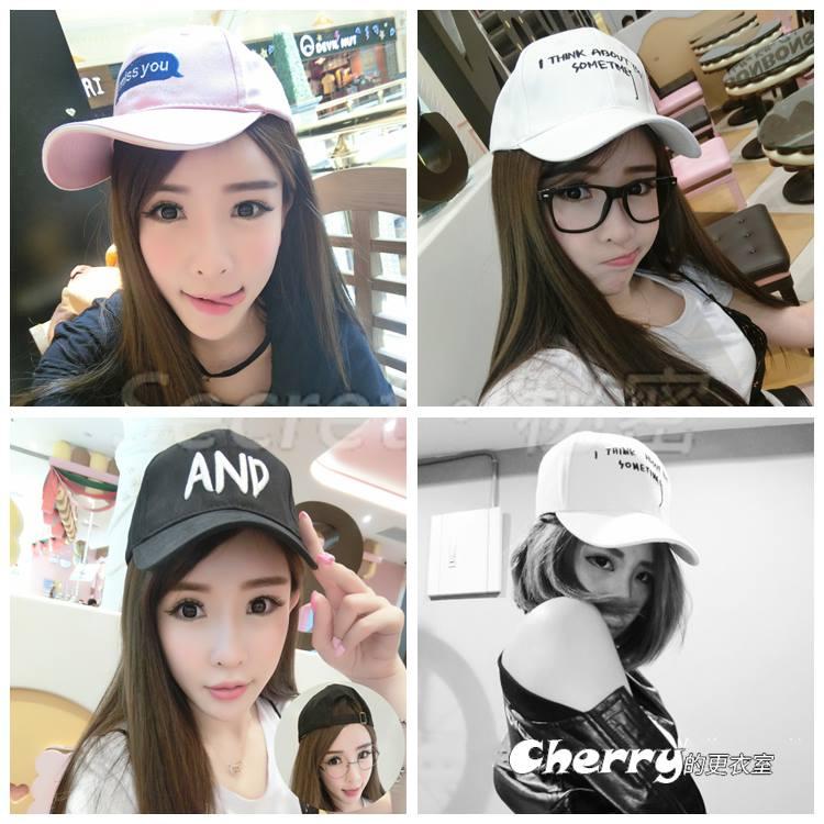 韓版逛街情侶帽遮陽防曬棒球帽嘻哈帽鴨舌帽