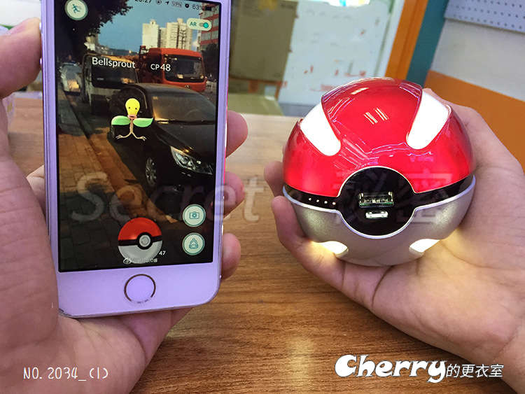 Pokemon GO 神奇寶貝 精靈寶可夢 皮卡丘 行動電源