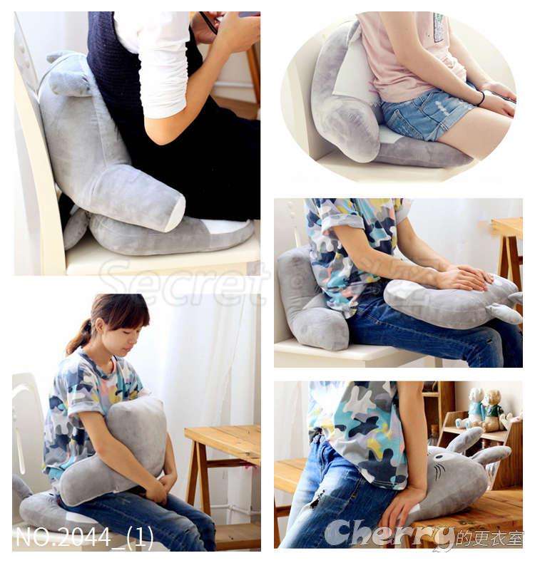 加厚美姿增高護理翹臀美臀孕婦提臀透氣屁股墊辦公室坐墊
