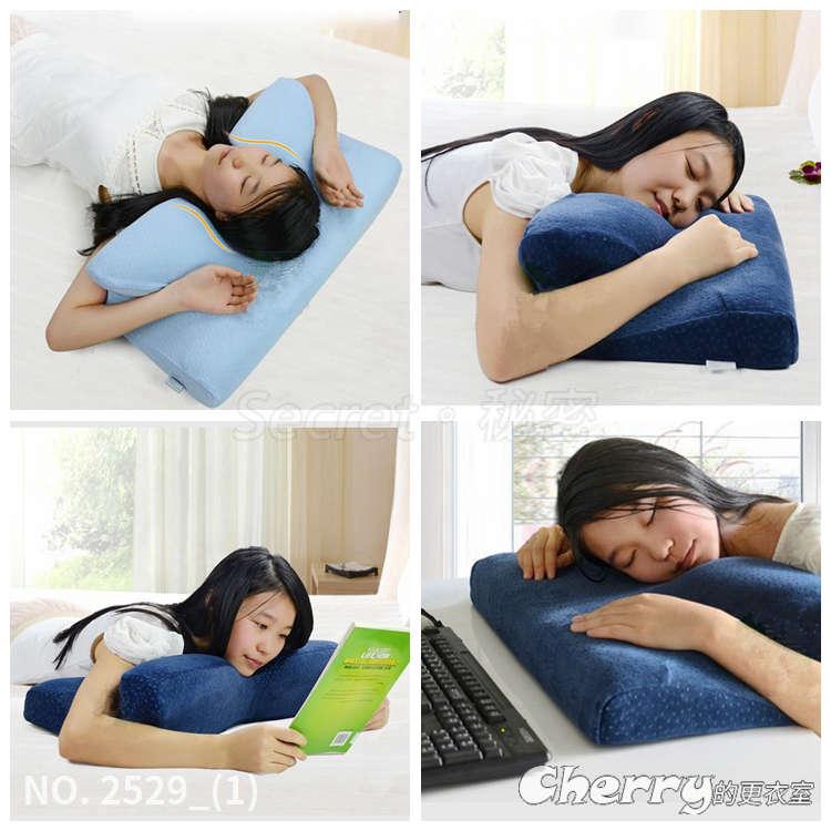 蝴蝶型4D枕頭太空棉記憶枕