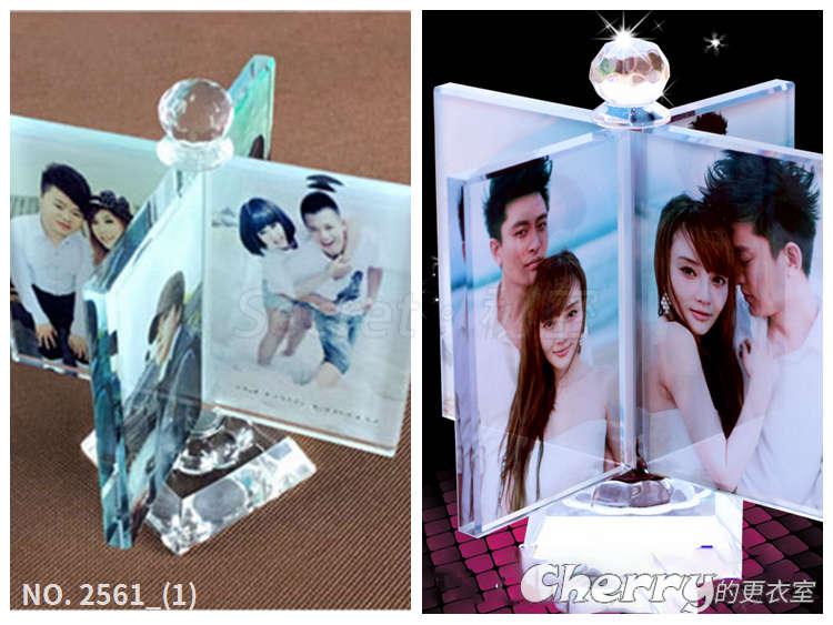 水晶風車擺飾 生日結婚情人節聖誕禮物品 DIY客製化個性化訂製做