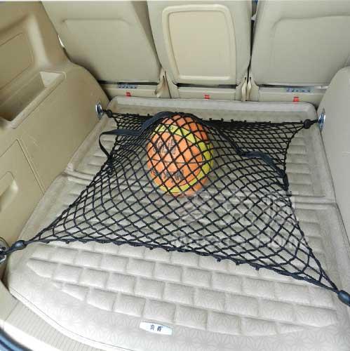 汽車通用型後車行李廂隔離固定網