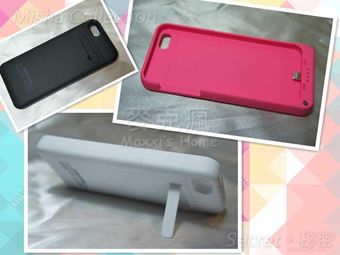 APPLE 蘋果 iPhone 5 / 5s 背夾夾背蓋支架式行動電源電池蓋 鋰聚合物超薄移動電源