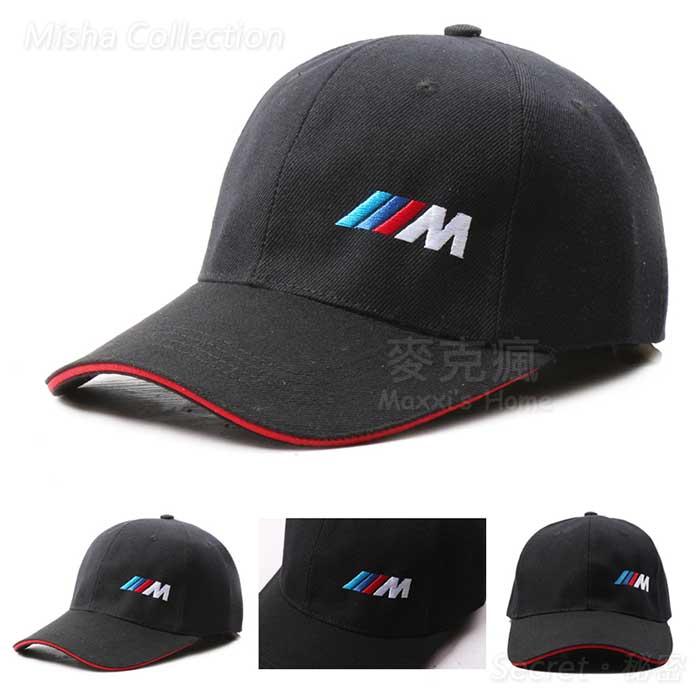 BMW寶馬M power M字款剌繡款棒球帽M performerce鴨舌帽